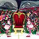 """Комплекты аксессуаров ручной работы. Ярмарка Мастеров - ручная работа. Купить Фотозона """"Алиса в стране чудес"""". Handmade. Фотозона"""