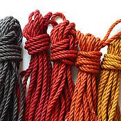 Субкультуры ручной работы. Ярмарка Мастеров - ручная работа Веревка для шибари цветная. Handmade.