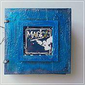 Фотоальбомы ручной работы. Ярмарка Мастеров - ручная работа Альбом по миру Гарри Поттера. Handmade.