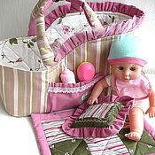 Работы для детей, ручной работы. Ярмарка Мастеров - ручная работа Люлька для куклы. Handmade.