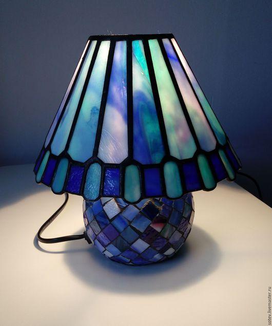 """Освещение ручной работы. Ярмарка Мастеров - ручная работа. Купить Лампа -ночник """"Бутон"""". Handmade. Светильник Тиффани, ночник"""