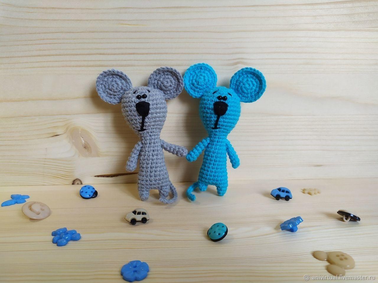 Мыши курносики (крыса), Мягкие игрушки, Челябинск,  Фото №1