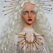 Шарнирная кукла ручной работы. Ярмарка Мастеров - ручная работа Лира авторская шарнирная кукла ооак, полиуретан. Handmade.