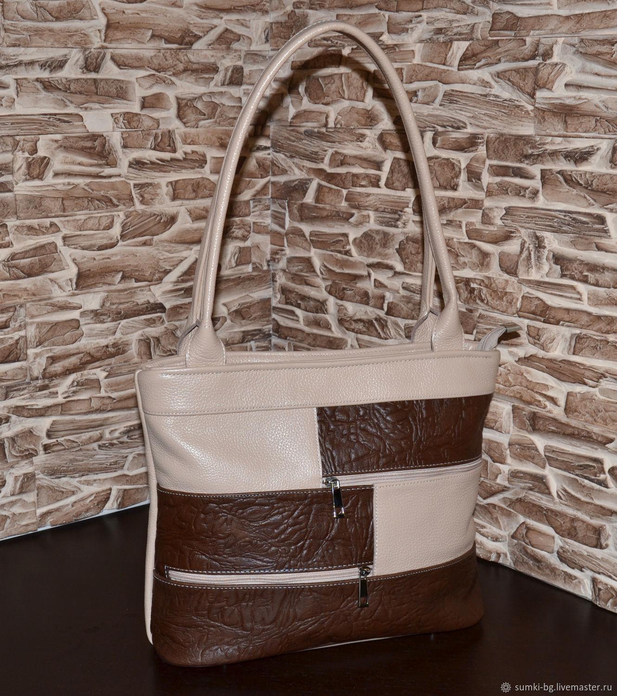Модель 549  Сумка кожаная женская, Классическая сумка, Богородск,  Фото №1