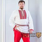Русский стиль handmade. Livemaster - original item Blouse