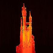 """Ночники ручной работы. Ярмарка Мастеров - ручная работа Ночник """"Город"""". Handmade."""