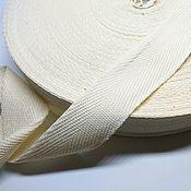 Материалы для творчества handmade. Livemaster - original item Herringbone tape 30 mm. Handmade.