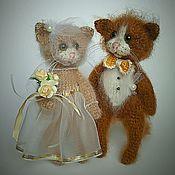 """Куклы и игрушки ручной работы. Ярмарка Мастеров - ручная работа """"Золотая """" пара.. Handmade."""