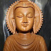 Винтаж ручной работы. Ярмарка Мастеров - ручная работа Будда и сандалового дерева.. Handmade.