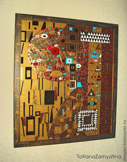 Абстракция ручной работы. Ярмарка Мастеров - ручная работа. Купить Abstractio (по мотивам работ Г.Климта). Handmade. Климт