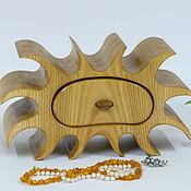 Для дома и интерьера ручной работы. Ярмарка Мастеров - ручная работа Мини-Комодик Солнце. Handmade.