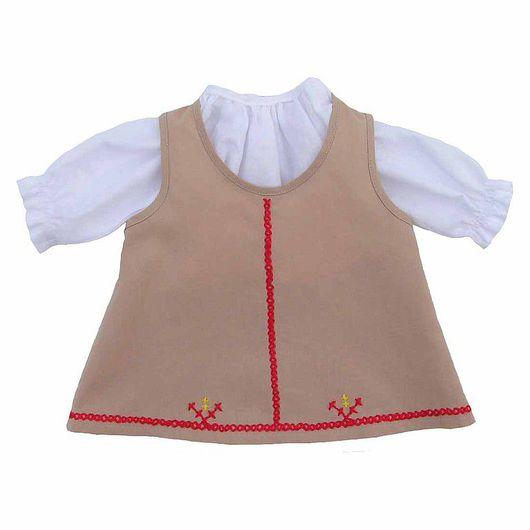 Так будет выглядеть готовая одежда для куклы