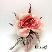 Цветы и флористика handmade. Livemaster - original item Brooch-barrette rose