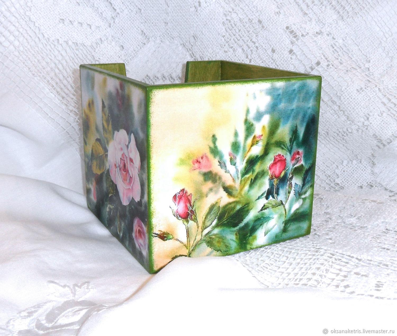 Салфетница Царица цветов, Салфетницы, Новосибирск, Фото №1