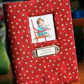 """Канцелярские товары ручной работы. Ярмарка Мастеров - ручная работа Блокнот """"Книжка про Настю"""". Handmade."""
