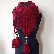 Аксессуары handmade. Livemaster - original item Knitted shawl 535. Handmade.