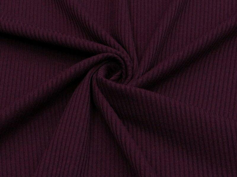 Ткань трикотаж рибана ягодный цвет, Ткани, Москва,  Фото №1