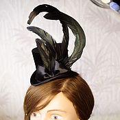 Аксессуары handmade. Livemaster - original item Hat mini cylinder