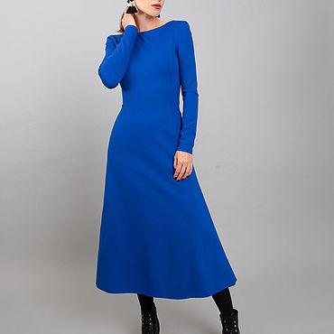 Одежда ручной работы. Ярмарка Мастеров - ручная работа Потрясающее облегающее платье из джерси. Handmade.
