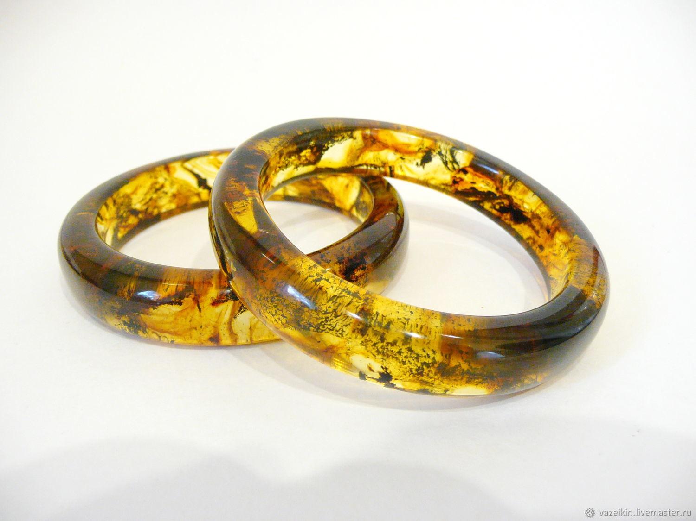 Amber bracelet 'Opium-3' Br-208, Bead bracelet, Svetlogorsk,  Фото №1