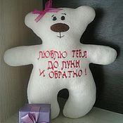 """Мягкие игрушки ручной работы. Ярмарка Мастеров - ручная работа Медвежонок """"Валя"""". Handmade."""