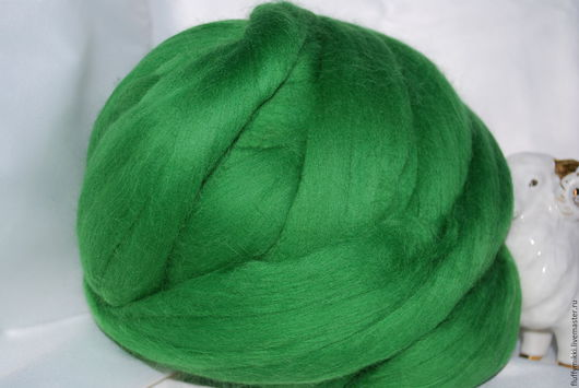 Австралийский топс меринос 18 мкм №206 зеленый
