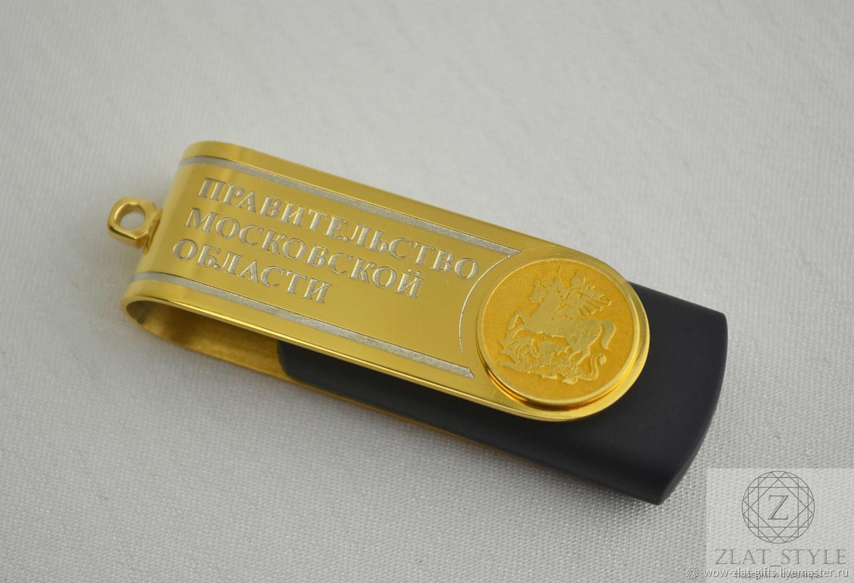 Custom logo gifts.USB flash drive, Flash drives, Chrysostom,  Фото №1