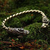 Украшения handmade. Livemaster - original item Bronze bracelet - Aries. Handmade.