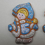 Сувениры и подарки handmade. Livemaster - original item The Snow Maiden magnet. Handmade.