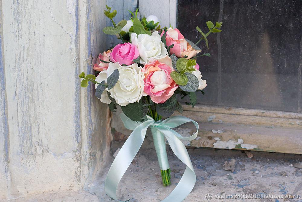 Свадебный букет невесты, букет дублер, букет дублер из фоамирана, Свадебные букеты, Сочи,  Фото №1