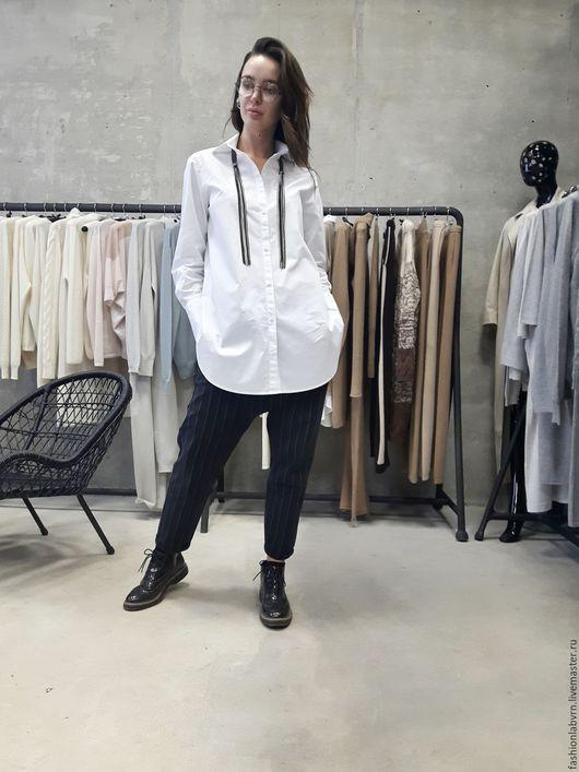 """Блузки ручной работы. Ярмарка Мастеров - ручная работа. Купить Рубашка женская oversize """"Комфортный стиль"""". Handmade. Рубашка"""