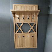 Для дома и интерьера handmade. Livemaster - original item Oak hanger for clothes from the array