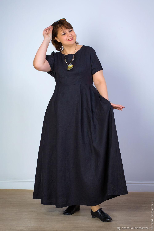 Boho Linen Sundress, Loose Silhouette dress, Dresses, Kaliningrad,  Фото №1