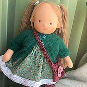 Куклы и игрушки handmade. Livemaster - original item Mar - Waldorf doll. Handmade.