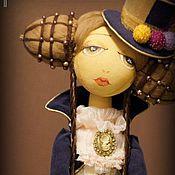 Куклы и игрушки ручной работы. Ярмарка Мастеров - ручная работа куколка Malena-Vittoria / Малена/Виттория. Handmade.