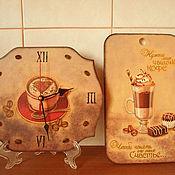 """Для дома и интерьера ручной работы. Ярмарка Мастеров - ручная работа Набор """"Кофемания"""". Handmade."""
