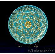 Plates handmade. Livemaster - original item Decorative plate