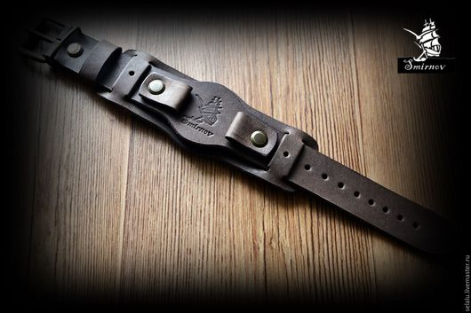 Часы ручной работы. Ярмарка Мастеров - ручная работа. Купить Ремешок ручной авторской работы для наручных часов.. Handmade. Комбинированный