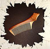 Сувениры и подарки ручной работы. Ярмарка Мастеров - ручная работа Расческа из яблони Балу. Handmade.