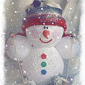 Подарки к праздникам ручной работы. Ярмарка Мастеров - ручная работа СнегоСпортсмен. Handmade.