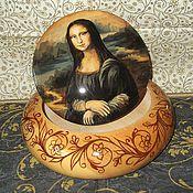 Для дома и интерьера handmade. Livemaster - original item Box of cedar Mona Lisa painting Box custom. Handmade.