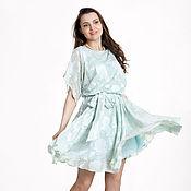 Одежда ручной работы. Ярмарка Мастеров - ручная работа 282: Летнее платье летучая мышь, повседневное платье на лето. Handmade.