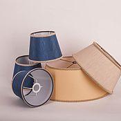 Для дома и интерьера ручной работы. Ярмарка Мастеров - ручная работа Абажуры из пластика разных размеров, форм и цветов. Handmade.
