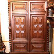 Для дома и интерьера ручной работы. Ярмарка Мастеров - ручная работа Антикварный разборный платяной шкаф. Handmade.