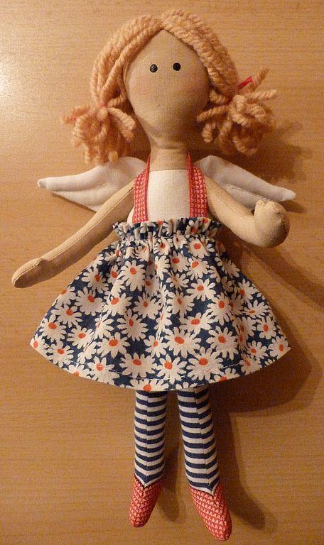 Куклы Тильды ручной работы. Ярмарка Мастеров - ручная работа. Купить Феечка. Handmade. Текстильные куклы, интерьерная кукла, ангелочек