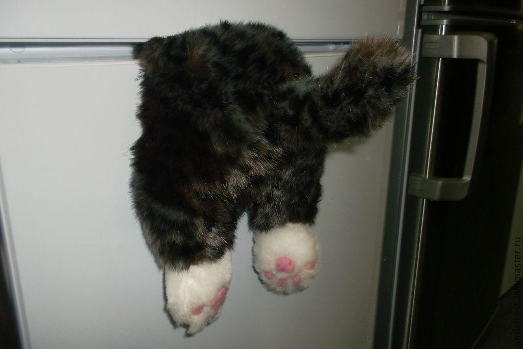Магниты коты на холодильник своими руками