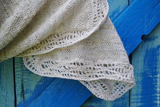 Магазин ручного вязания. Шарф ручное вязание. Шарф из льна спицами. Шарф ручной работы