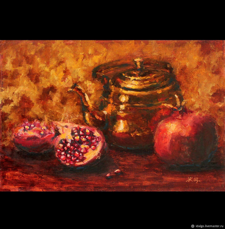 Oil painting 'Gold night date', prints, Pictures, Nizhny Novgorod,  Фото №1