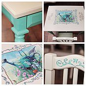 Мебель ручной работы. Ярмарка Мастеров - ручная работа Столик со стульчиком для вашего малыша. Handmade.