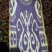 Материалы для творчества handmade. Livemaster - original item Uzbek cotton ikat hand weaving. FM132. Handmade.